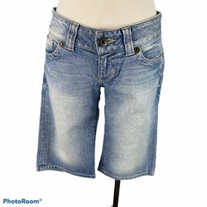 GUESS Denim Bermuda Shorts